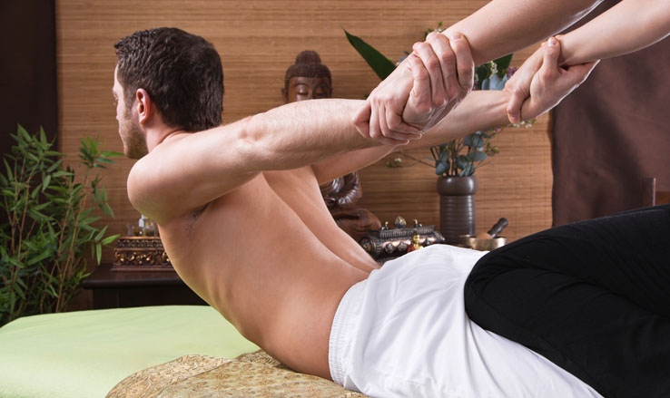 therapeutic massage town thai